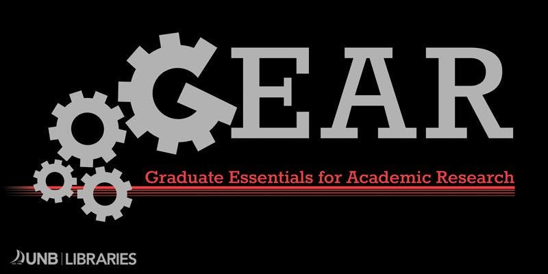 GEAR: Graduate Essentials for Academic Research