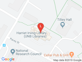 Harriet Irving Library on Google Maps