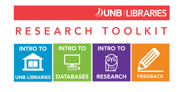UNB Libraries: Research Toolkit